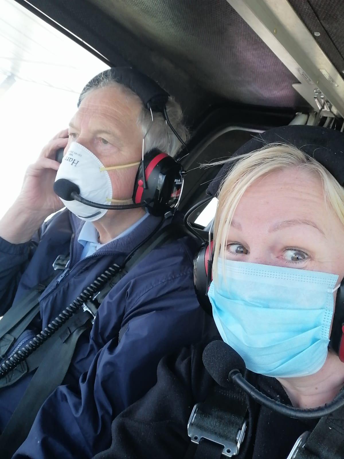 First Training Flight after lockdown