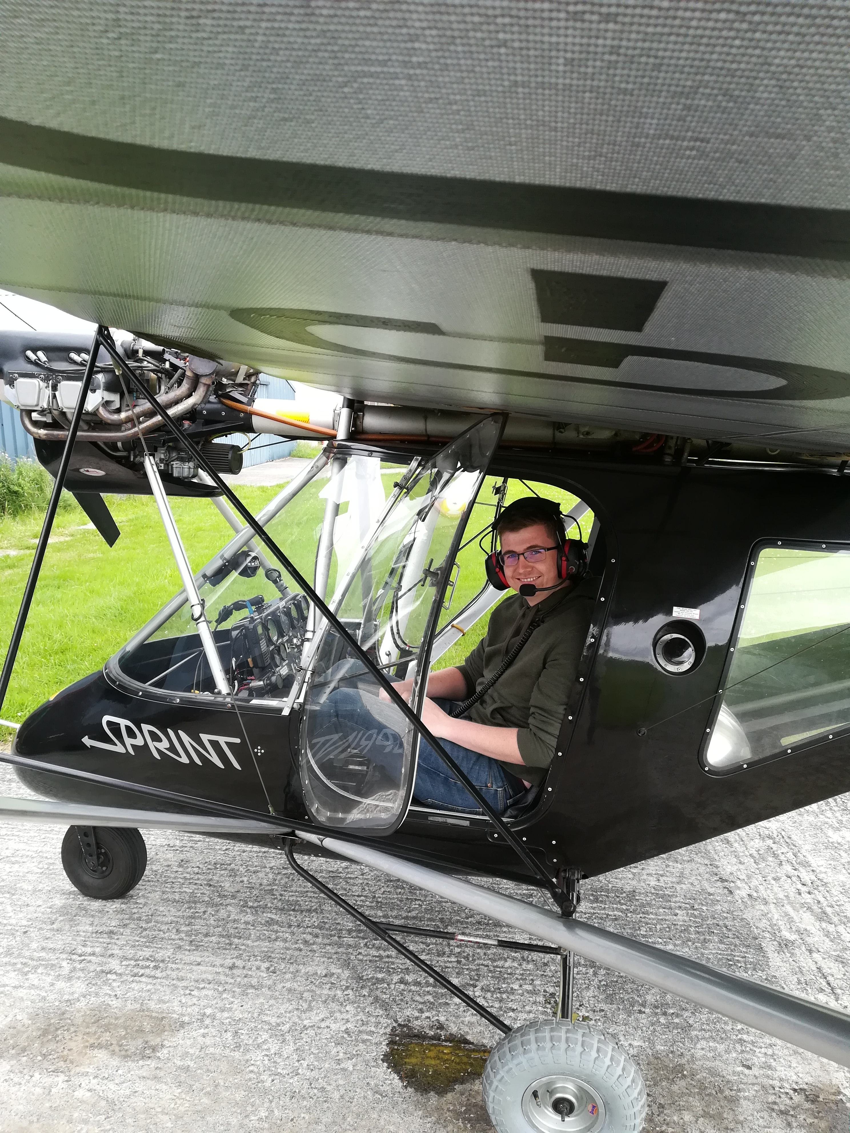 Jack Toner's First Solo Flight