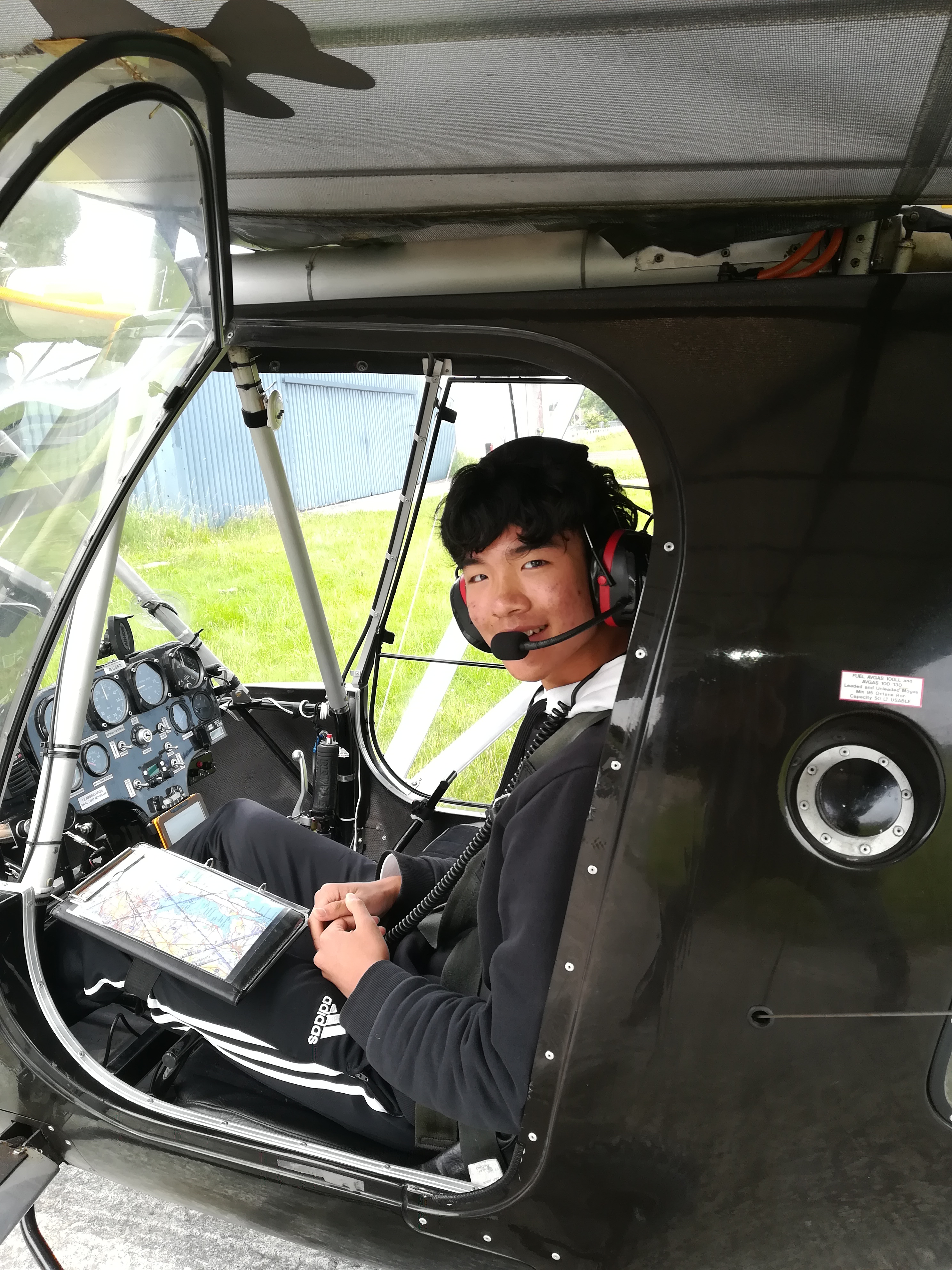 First Solo flight for 16 year old.