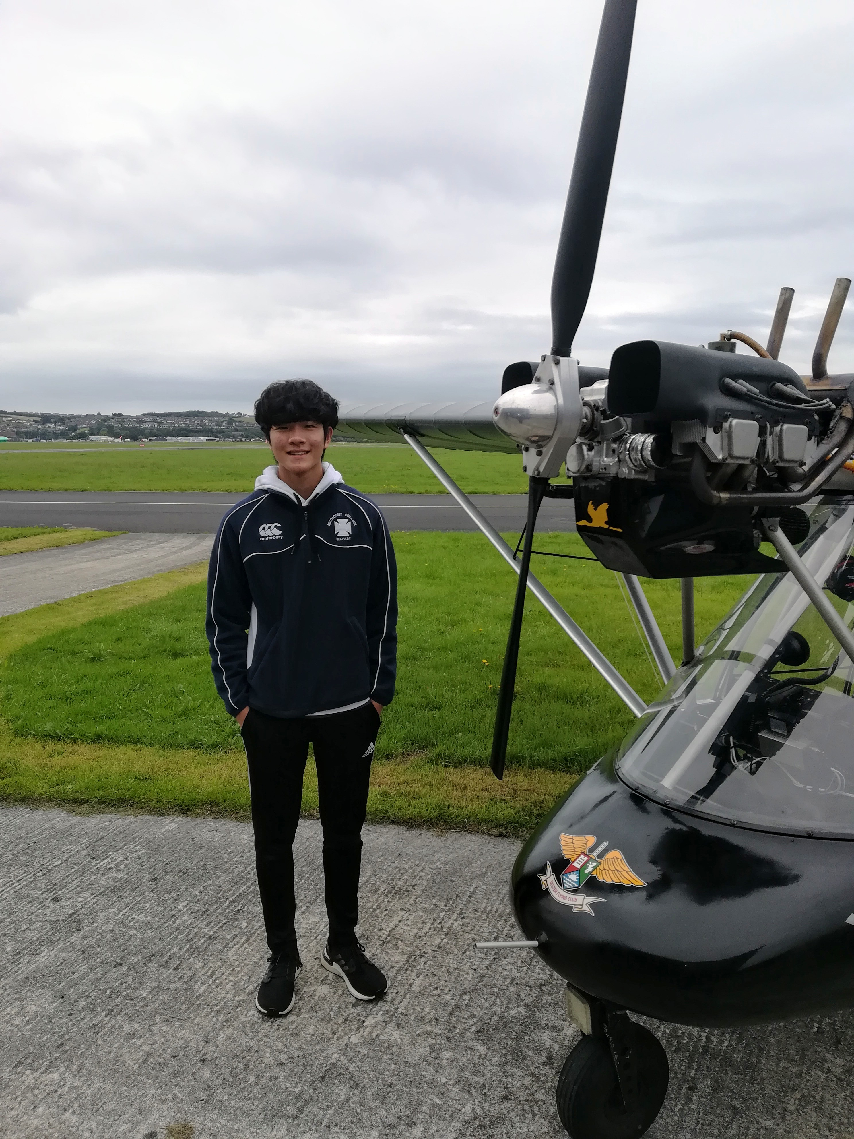 17 year old The Anh Loughran gains his Pilot's Licence